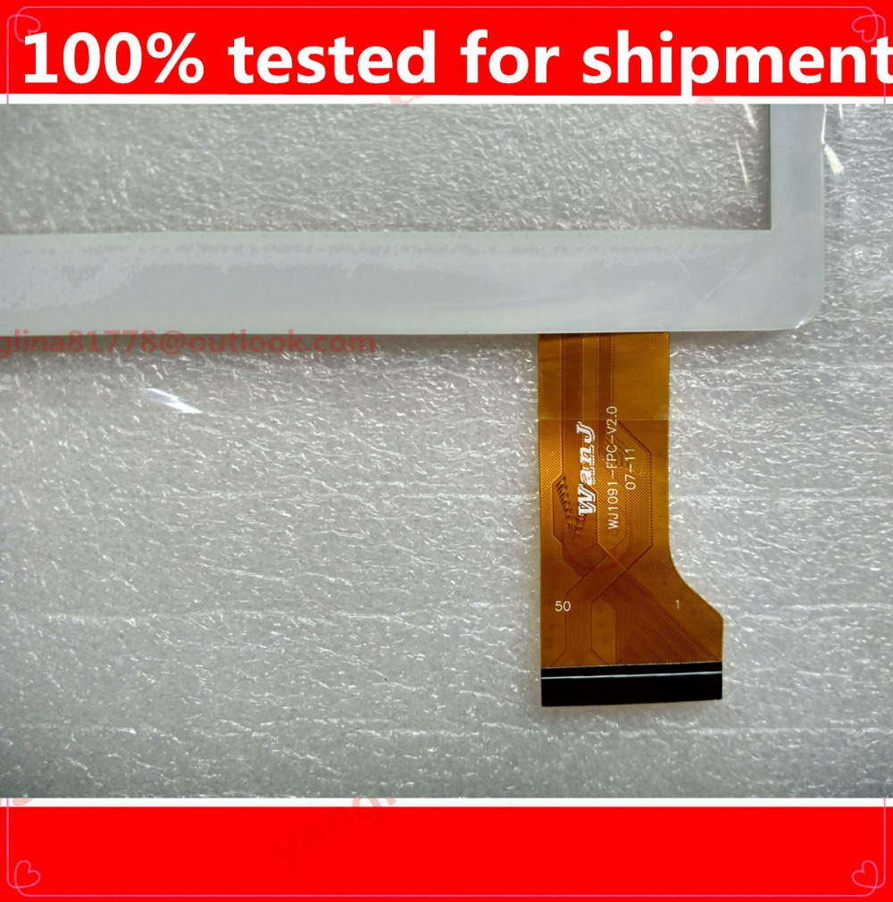 HZ Digitizer-Sensor Tablet Replacement Touch-Panel Capacitive for Wanj WJ1091-FPC-V2.0