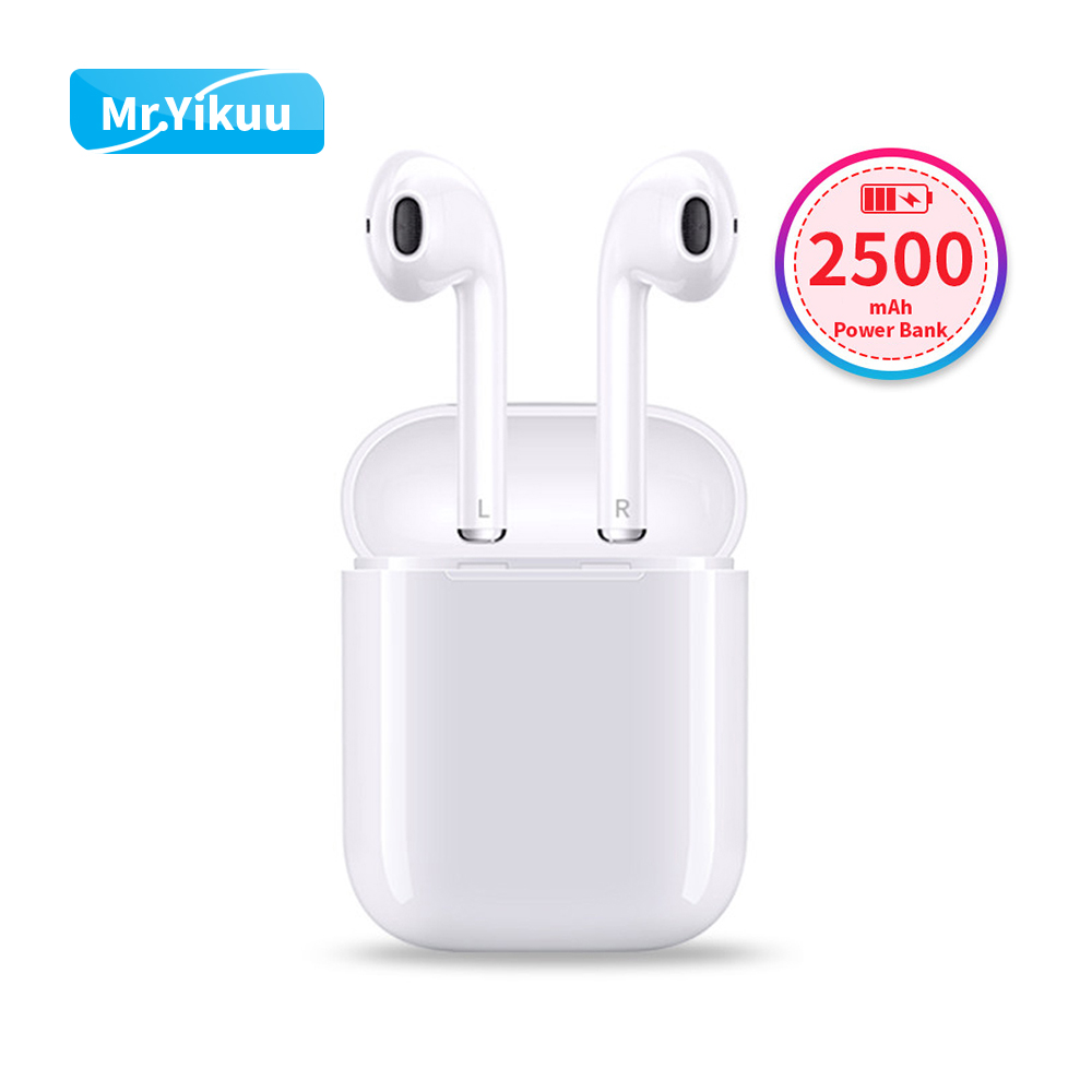 все цены на Wireless Headphones Bluetooth 5.0 earphones 2500mAh Power Bank 3D Stereo with Charging Box For iPhone 7s 8 Xiaomi earbuds Sony онлайн