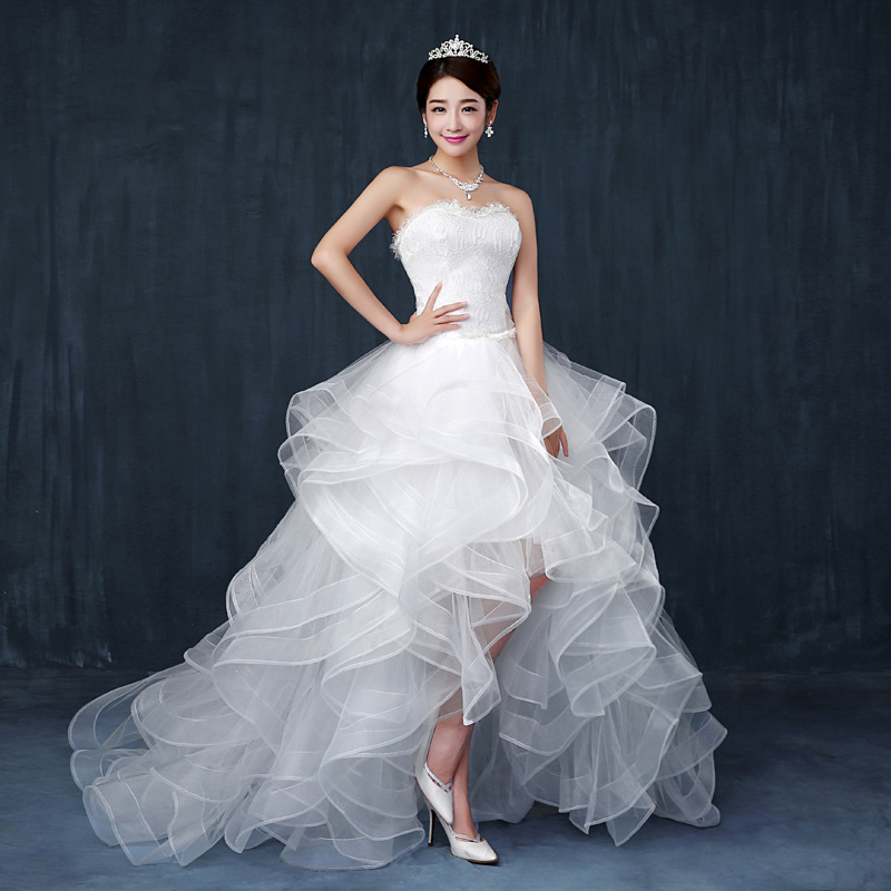 Online Buy Wholesale Wedding Dress Short Front Long Back