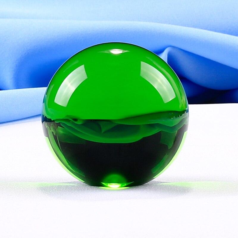 1 Parça 50 mm Kristal Top Müxtəlif Rənglər Ev Dekorasiyası - Ev dekoru - Fotoqrafiya 3