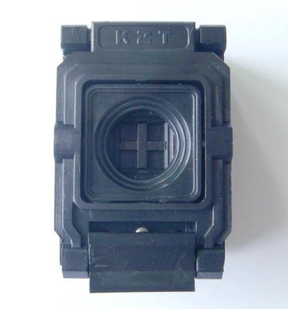BGA48 Clamshell socket pitch 0.8mm IC size 10.95*11.95mm BGA48(10.95*11.95)-0.8-CP06/50N BGA48 VFBGA48 Burn in/programmer socket