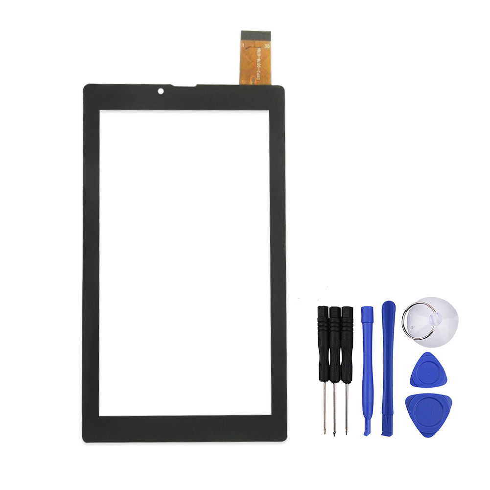 New 7 inch Black Touch Screen for DXP2-0578-070A Digitizer Glass Touch Panel Sensor Replacement Free Shipping 50pcs high quality 4 7 for lg l90 d410 dual sim card touch screen digitizer sensor glass lens panel black white free shipping