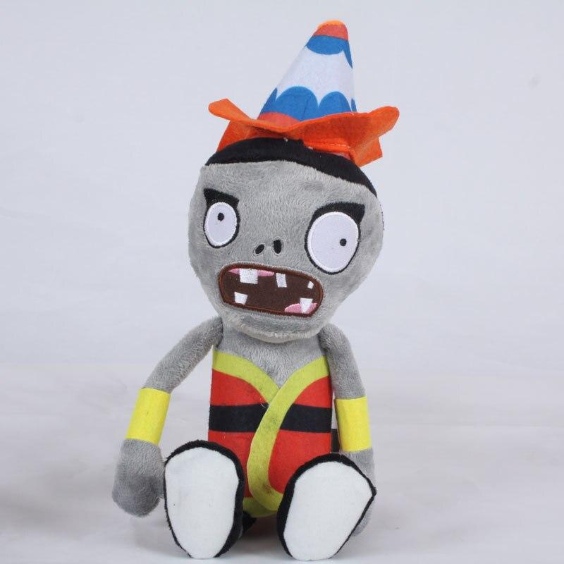 Newest 30cm PVZ Plant Vs Zombies Plush Toys Alcoholic Zombie Plush Toy Dolls For Kids Gift