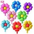 20 Hoja hincha unids/lote hermosa Flor Modelo tamaño grande fiesta de Cumpleaños del globo Decoración de La Boda Juguetes de Los Niños
