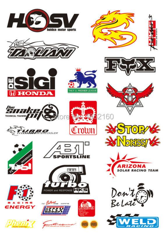 A4 size motor logo cartoon skateboard luggage car bike vinyl stickers 0075 on aliexpress com alibaba group