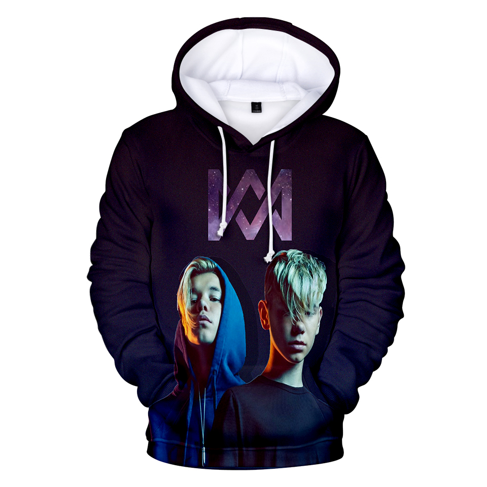 Marcus and Martinus 3D Hoodies Sweatshirts Print Harajuku Women/Men Marcus Sweatshirt Oversized Hoodie Coat Tops Kpop Hoodie jung kook bts persona