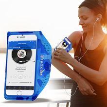 Камуфляжная уличная лайкра тканевая повязка для бегуна держатель телефона для спорта дышащая работа модные телефонные шкафы сумки на плечо