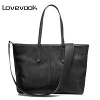 LOVEVOOK Brand Fashion Women Handbag Large Capacity Shoulder Bags 2017 New Zipper Packet Designer High Quality