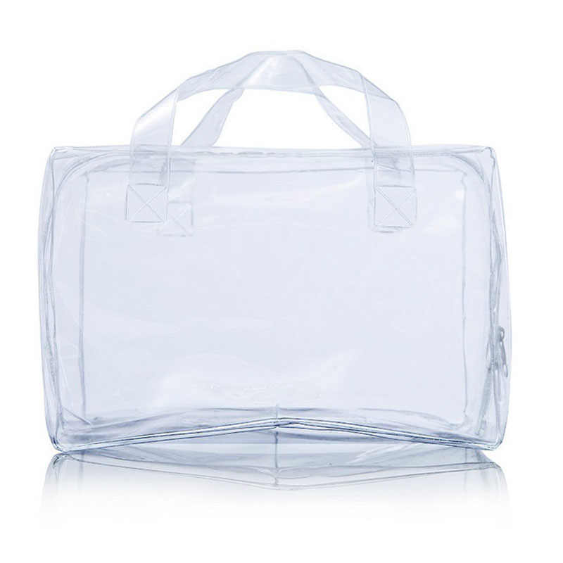 1PC Waterproof Anti-Leakage Zippered Transparent PVC Baby Nappy Diaper Bag Insert Organizer Inner Container 2018 DEO