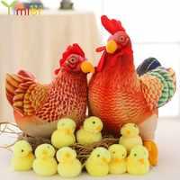 Candice guo! Забавная плюшевая игрушка, Курочка для Цыпленок, мягкая кукла, украшение, подарок на день рождения, Рождество, 1 шт.