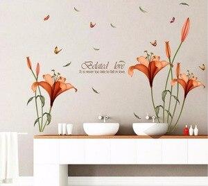 Низкая цена Акция HM18195 цветочный Белый дом модная детская спальня гостиная фон с палкой
