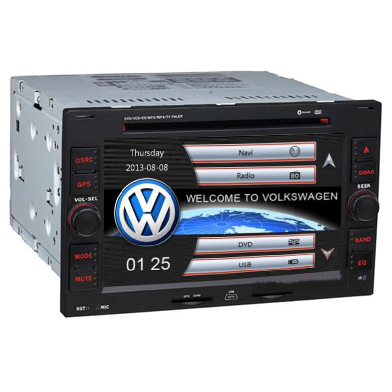 Two Din Autoaudio Car DVD Player For Volkswagen/VW PASSAT/B5/MK5/GOLF/POLO/TRANSPORTER Radio GPS Navigation Steering Wheel RDS