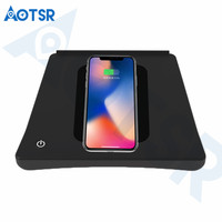Aotsr Wireless car charger for Toyota Levin 2015 2018 Intelligent Infrared Fast Wirless Charging Car for Phone/Sumsang/Nokia