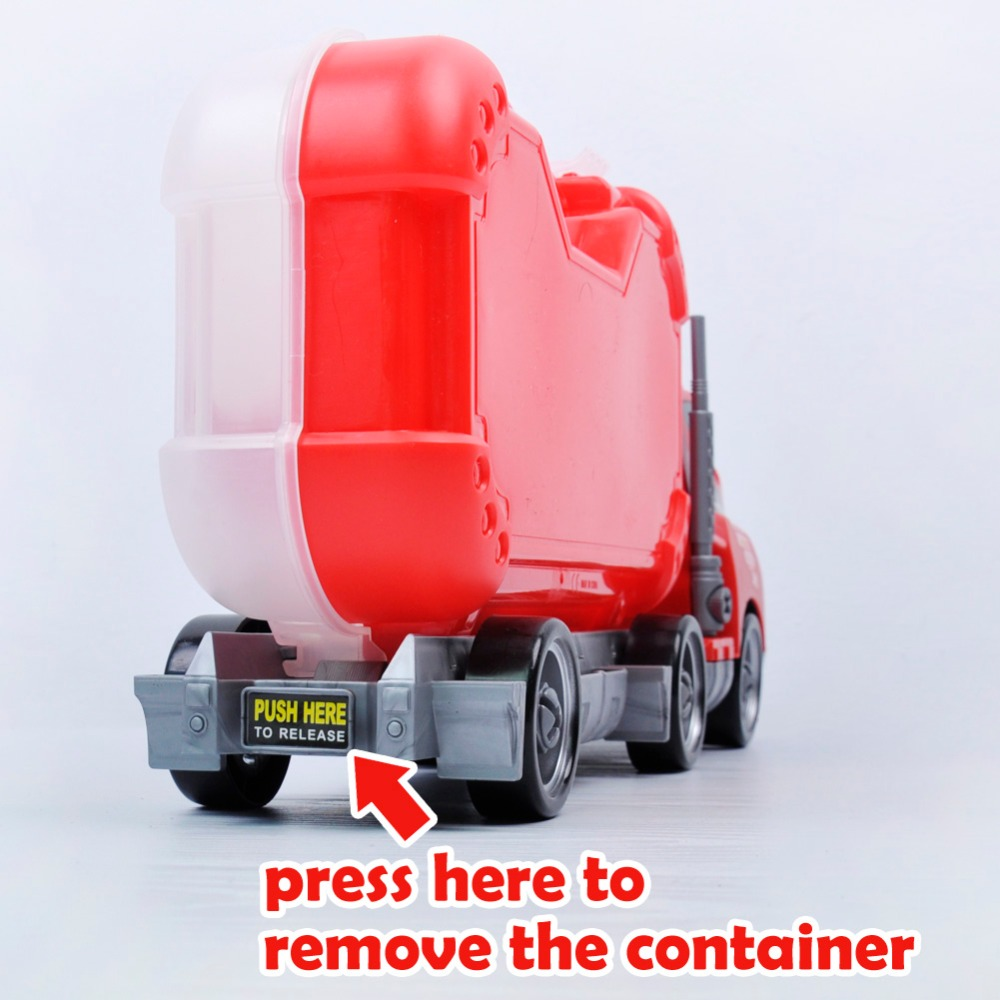 aliexpress com buy assembly big rig children container truck toy
