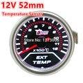 Hot 1 PCS 12 V 52mm Universal Car EGT Exhaust Gas Temperature Temp Medidor Display LED Vermelho Frete Grátis