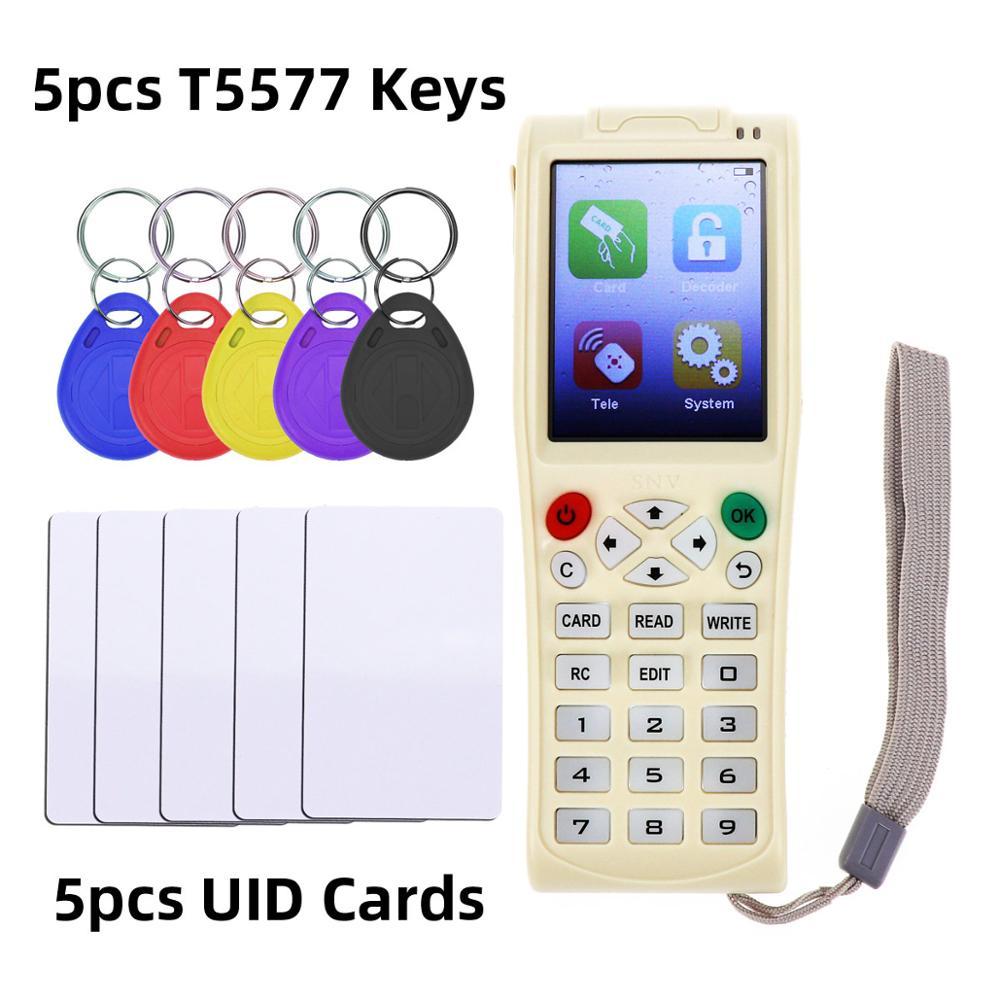 Version anglaise Nouvelle iCopy 3 avec Plein Décoder Fonction Clé de la Carte À Puce Machine RFID NFC Copieur IC ID Lecteur Duplicateur