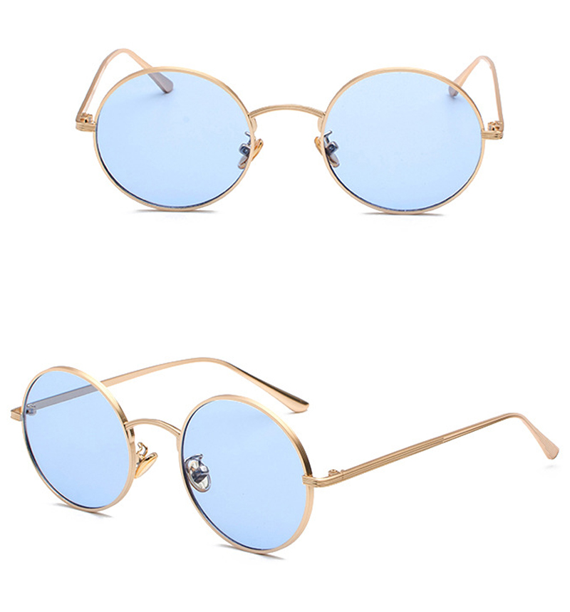women sunglasses with red lenses detail (9)