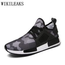 4fd9f1c5a4 Famosa marca de 2018 homens sapatos casuais formadores tenis masculino  esportivo camuflagem sapatos designer versio ar