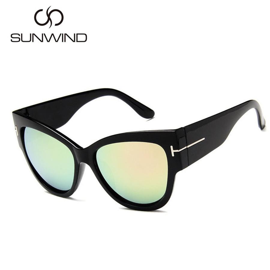 2018 Cat Eye Sunglasses Wanita Merek Mewah Designer Vintage Sun - Aksesori pakaian - Foto 5