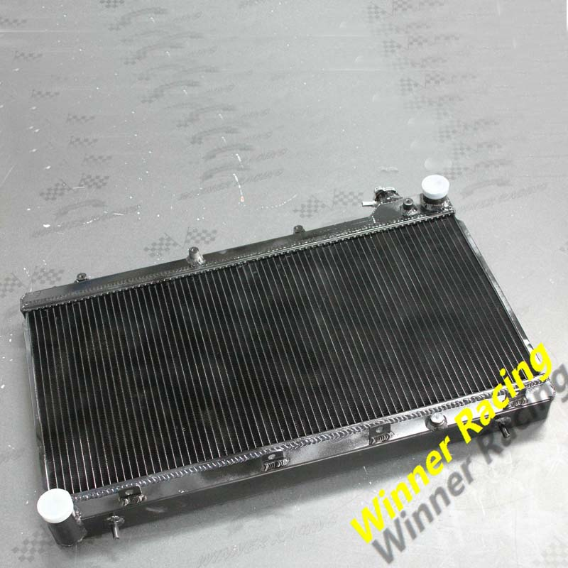 Aluminum radiator /& fans for Subaru Forester EJ25 EJ22 IMPREZA 1998-2002 MT
