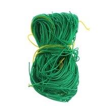 Сад зеленый нейлон из мешочного тика поддержка для плетения восхождение фасоли завода сетки расти забор