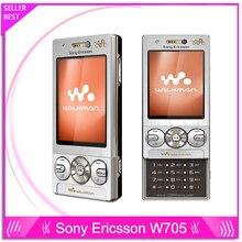 Sony Ericsson W705 W705 Оригинальный Разблокирована Сотовый телефон Бесплатная Доставка