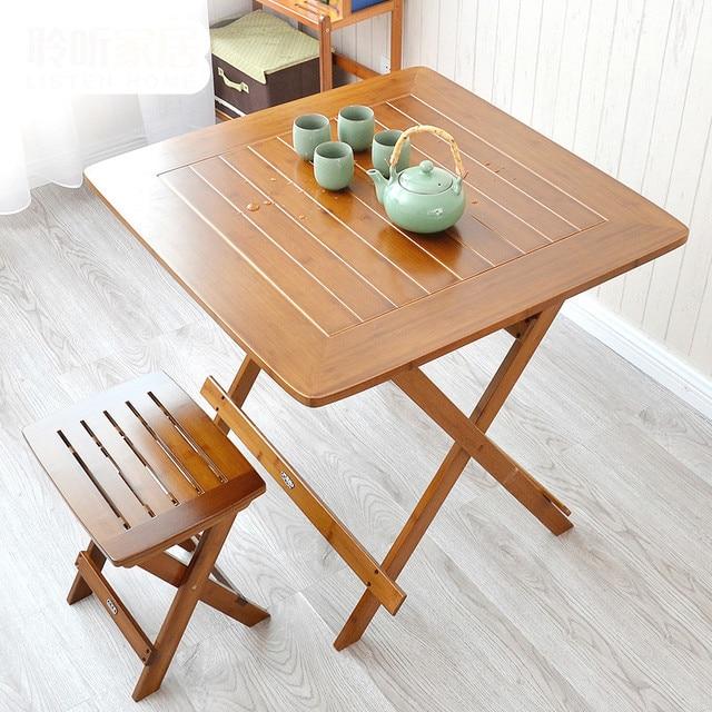 Ocio mesa plegable mesa port til plegable mesa para comer bamb simplicitysideof peque a mesa - Mesa plegable pequena ...