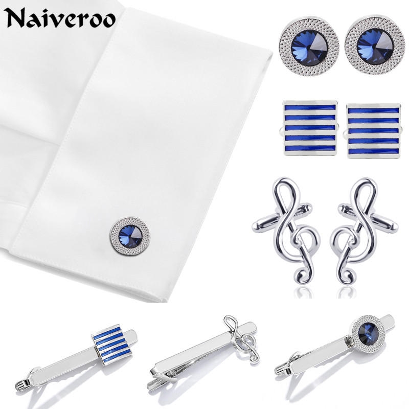 French Shirt Square Cylinder Men Jewelry Unique Wedding Groom Men High Quality Cuff Links Business Clips & Cufflinks For Men
