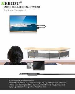 Image 5 - Kebidu usb receptor sem fio transmissores bluetooth v5.0 áudio música estéreo adaptador dongle para tv pc bluetooth alto falante fone de ouvido