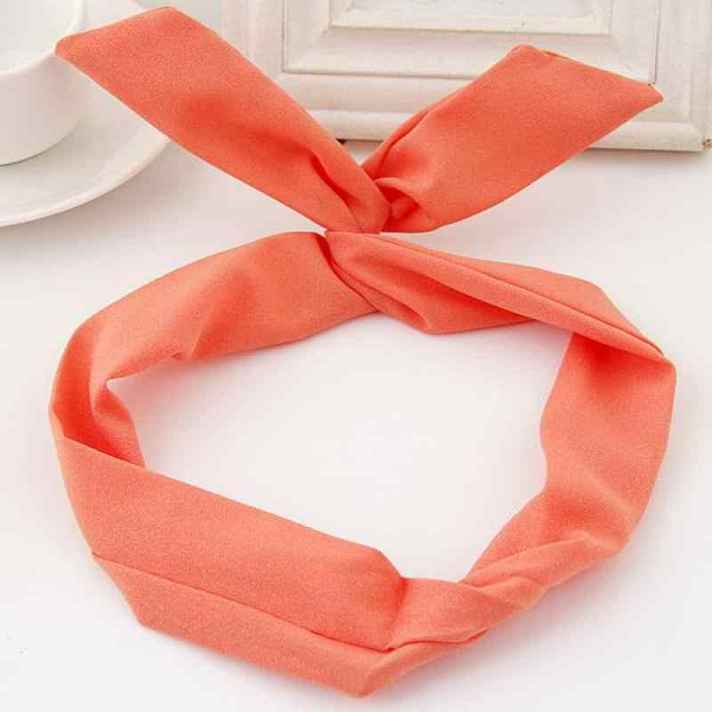 Deepom Headband Hair Accessories For Women Hair Bow Knot Hairband With Rabbit  Ear Fashion Head Band 439d4cc782cf