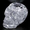 Горячая! 3D Crystal Puzzle DIY Головоломки Сборки Модели Игрушка в Подарок Череп Скелет Новый Продажа