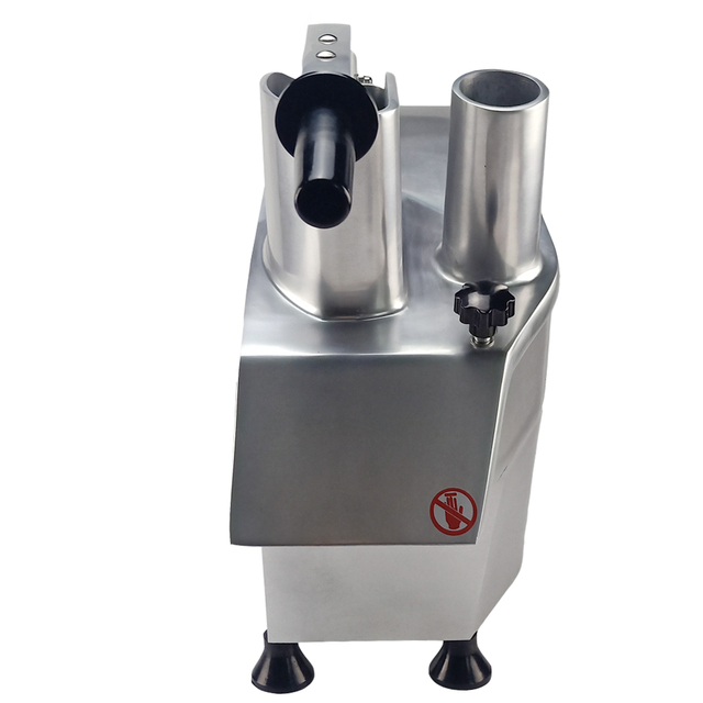 Stainless Steel Commercial Vegetable Cutter Machine Multifunction Electric Eegetable Slicer For Restaurant Kitchen