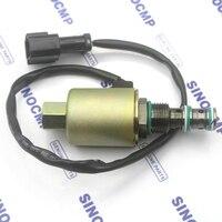 rotary swing solenoid valve 20Y-60-11672 for Komatsu PC200-5 6D95 Excavator