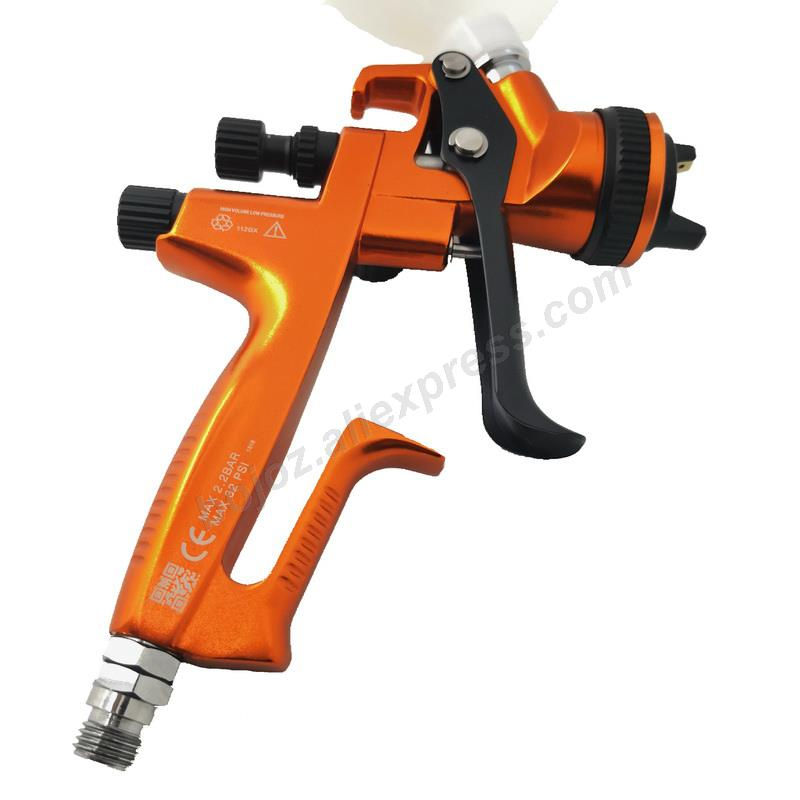 Image 3 - Golden environmental Limited Edition Porsche Design RP Spray Gun 1.3 Nozzle w/t cup for Car Paint Sprayer pistol.-in Spray Guns from Tools on