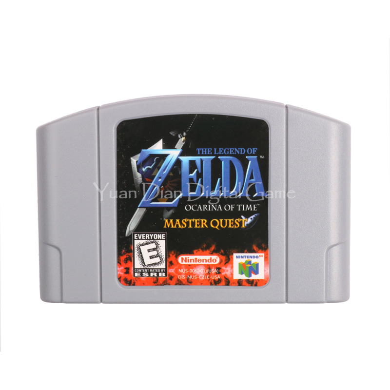 Nintendo N64 Video Game Cartridge Console Card The Legend of Zelda Ocarina of Time Master Quest English Language US Version secrets of the russian chess master – fundamentals of the game v 1