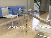 Акрил разворачивается столы современный Ресторан круглые столы кофе столы, мебель для сада