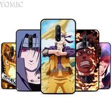 Akatsuki in Naruto theme Silicone Case for Oneplus 7 7Pro 5T 6 6T Black Soft Case for Oneplus 7 7 Pro TPU Phone Cover