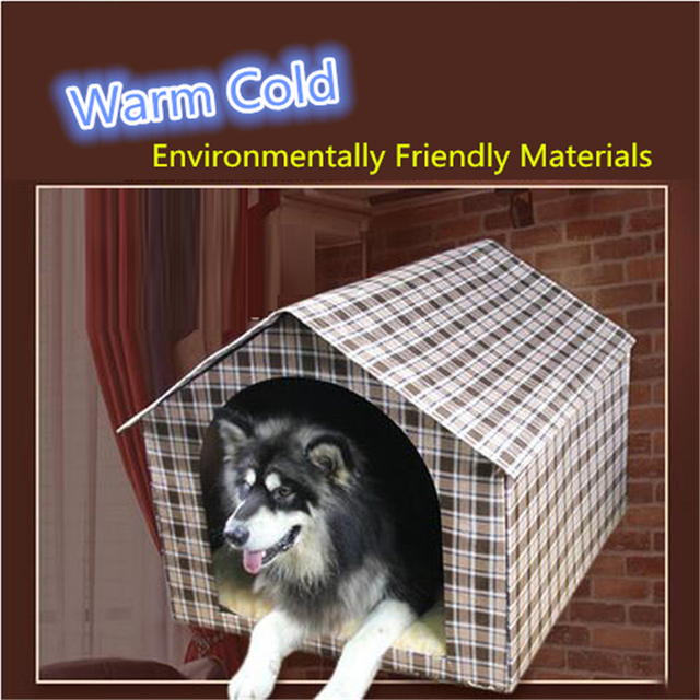 Pet Bed Large Dog Houses Kennel Small Animal House Cachorro Chihuahua Dog  Houses Cage Pour Chien