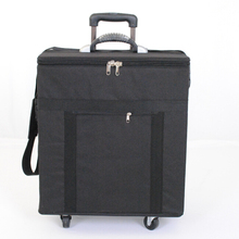 eyewear storage box suitcase sunglass sample carrying bag with capacity of 180pcs ophthalmic frames or 96pcs sunglass