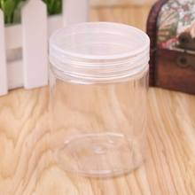 150ml Round Clear PET Container Jar Pot Bottle For DIY Slime Clay Makeup Cosmetic Cream Nail Box Square With Lid(China)