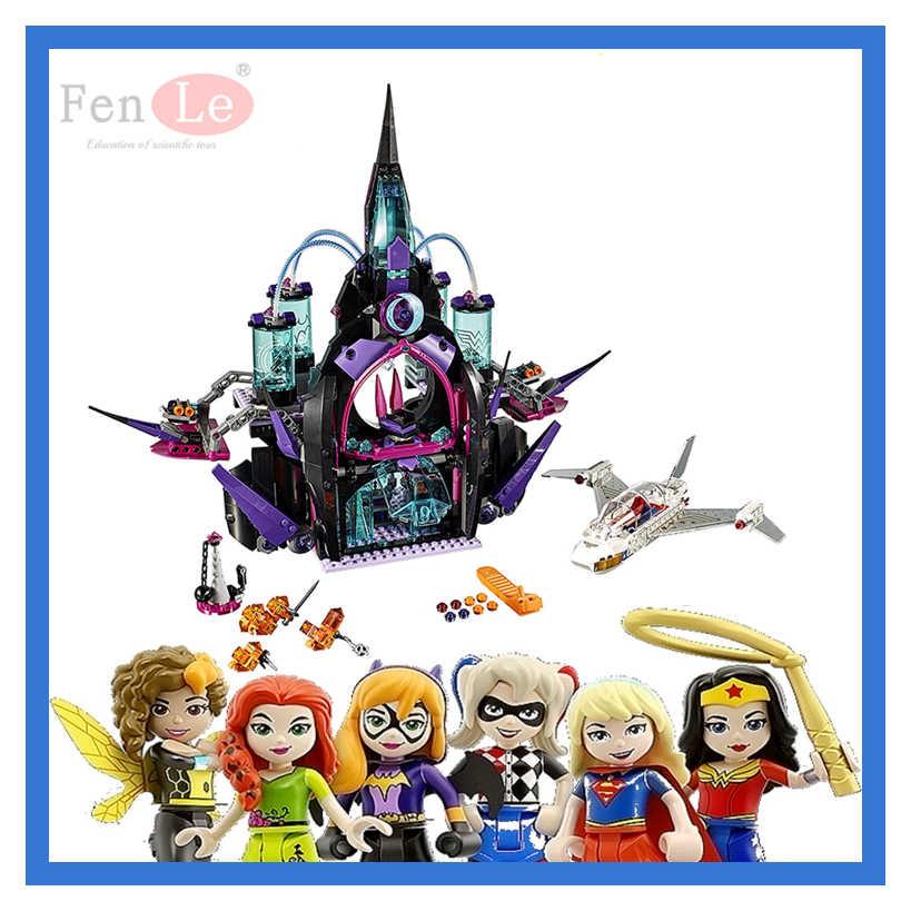 1093 29010 шт. Super Hero обувь для девочек друзья фильм Совместимость 41239 эклипсо Темный дворец здания Конструкторы рисунок игрушечные лошадки детей