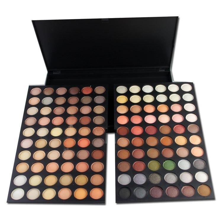 ФОТО PRO 120 Colors Neutral Nude Warm Eyeshadow Palette Makeup Cosmetic Beauty maquiagem naked basics paleta de sombra sombra  M614