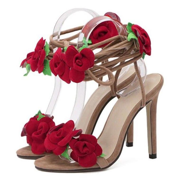 Chaussures Romain Cheville Sexy Color Hauts Femmes Boucle Sangles À As Ouvert Talons Bout Femme Bottes Showed Sandales Gladiateur Lacent Yyf7b6gvI