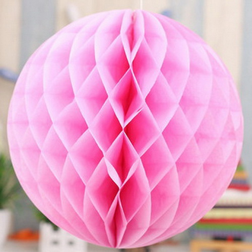 Flower Paper Lantern Honeycomb Ball Decorative Party Sizes 10//15//20//25//30 cm