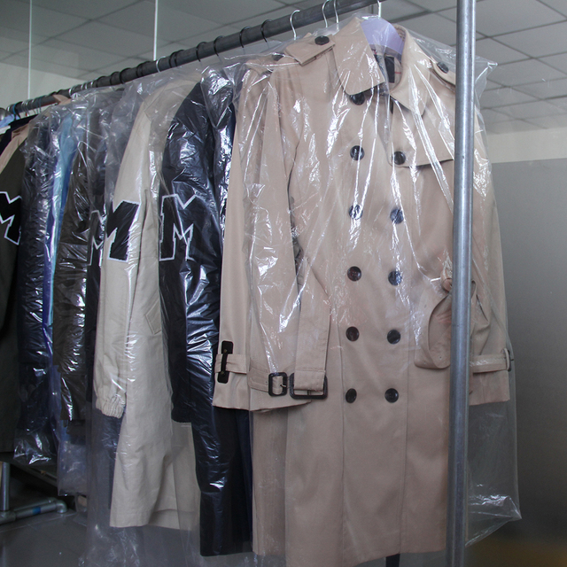 Autumn New Classic Double Breasted Waterproof Trench Coat 5