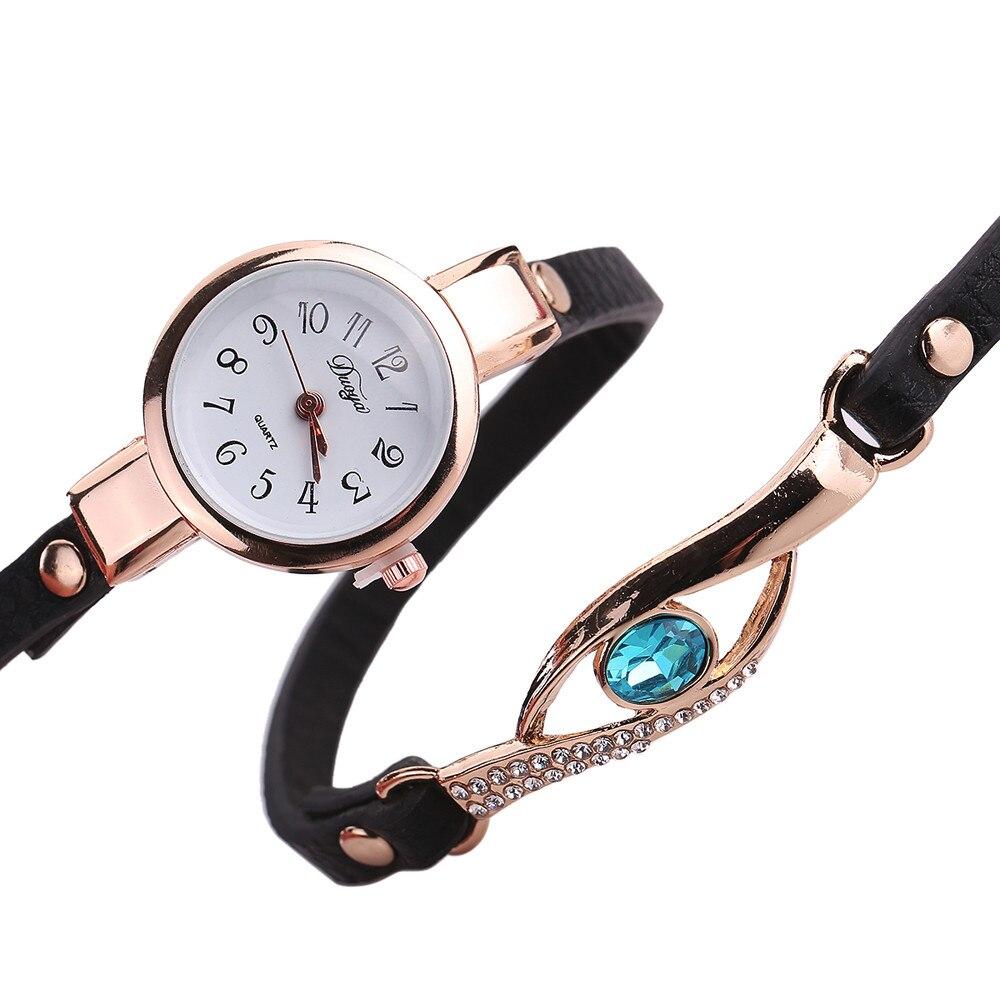 Ladies Bracelet Watch - black