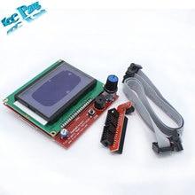 RAMPS1.4 ЖК 12864 ЖК панель управления 3d-принтер умный контроллер Бесплатная доставка груза падения