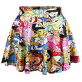 New skirt in the summer of 2014 women knitting Cheshire cat nana adventure time interesting Simpson pleated skirts and less size