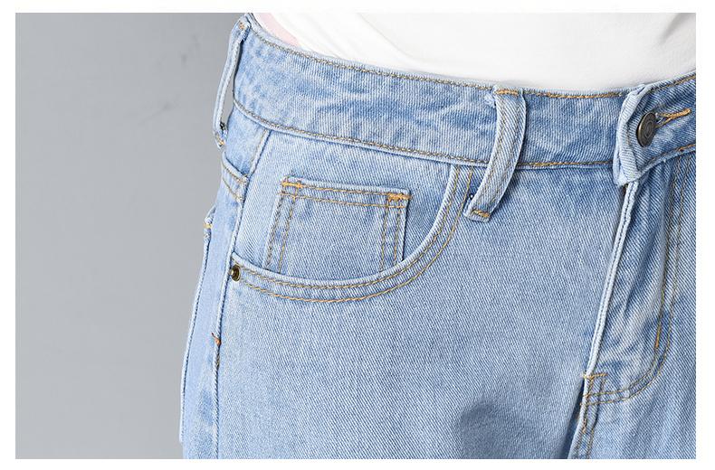 HTB1OP58SpXXXXXlapXXq6xXFXXXh - Women High Waist Jeans Ripped Solid JKP127