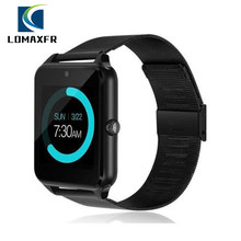 Z60 Smart Watch Men Bluetooth Waterproof IP67 Sport Phone Call Heart Rate Monitor Women Smartwatch IOS Android Compatible PKDZ09(China)